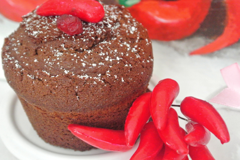 muffin al peperoncino